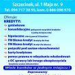 Centrum Kredytowe - adres, telefon, www | Finanse kredyty Szczecinek Szczecinek