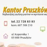 Kantor wymiany walut w Pruszkowie