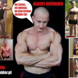 Trener personalny Albert Kośmider
