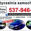 Wypożyczalnia samochodów i lawet Płońsk