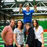 Park trampolin GOjump we Wrocławiu