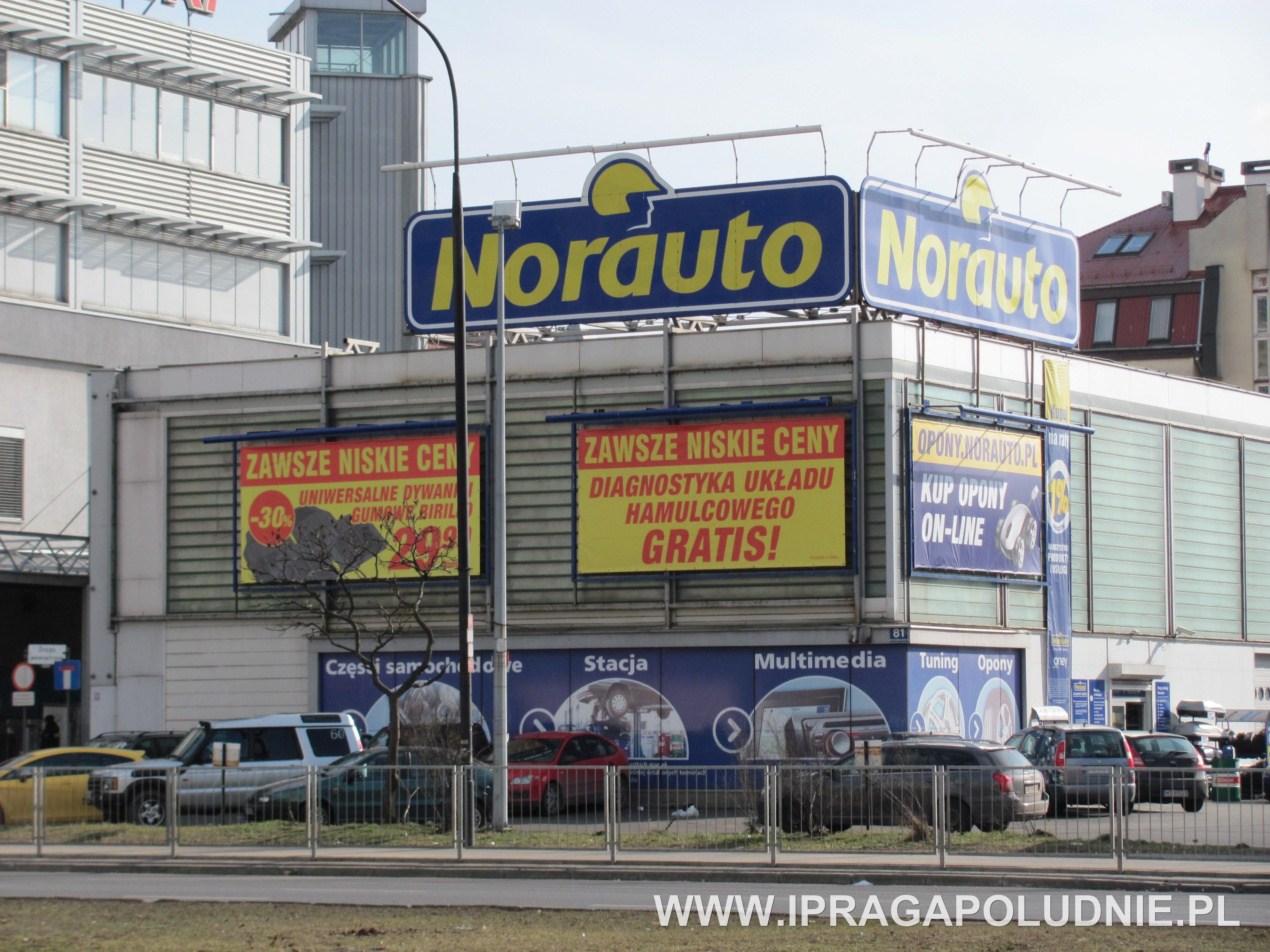 Norauto Sklep Motoryzacyjny - adres, telefon, www | Sklepy Warszawa Praga Południe  Warszawa Praga Południe