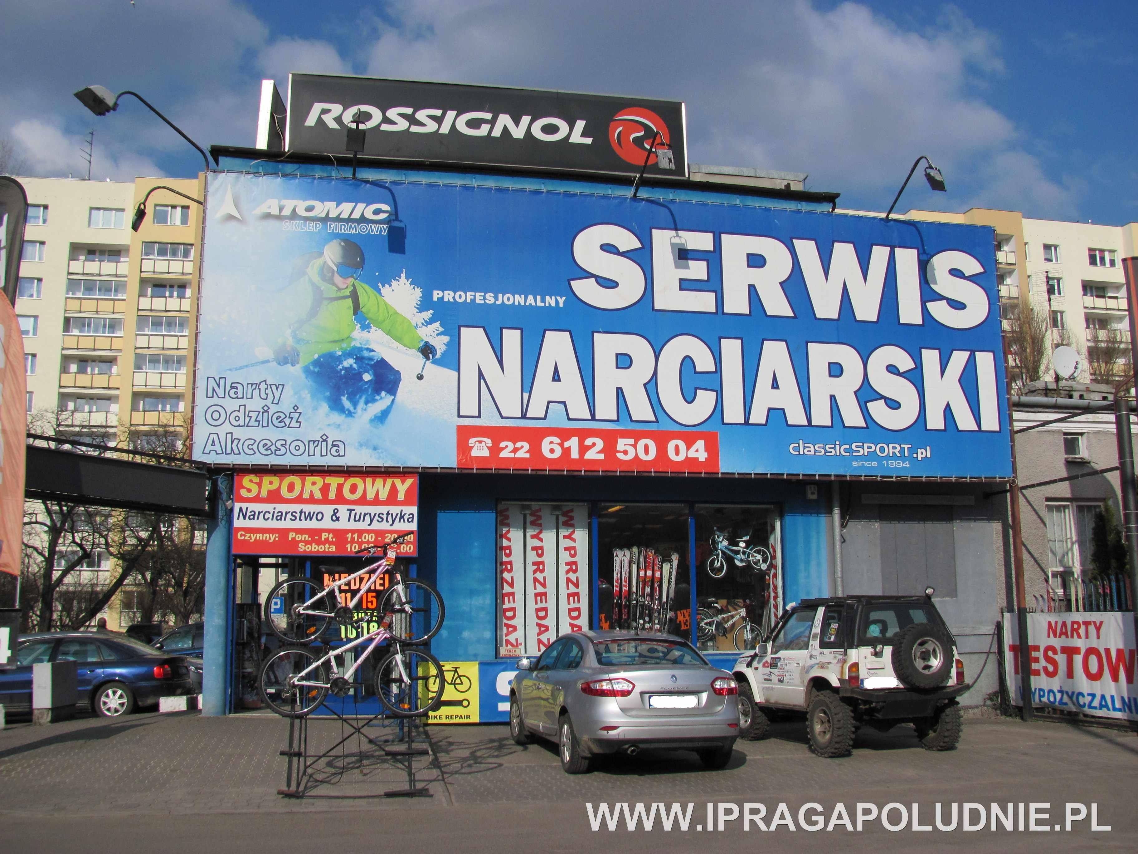 Classic Sport - adres, telefon, www | Sklepy Warszawa Praga Południe  Warszawa Praga Południe