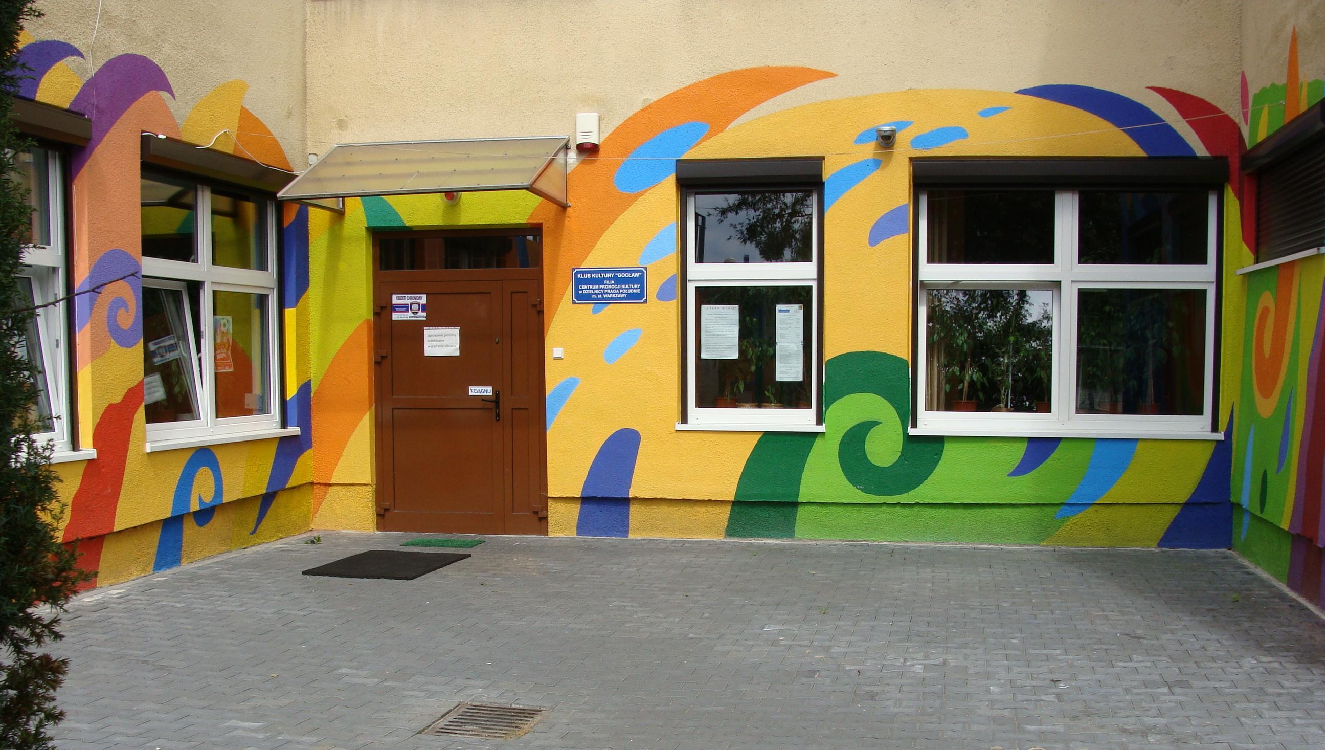 Klub Kultury Gocław - adres, telefon, www | Urzędy i instytucje Warszawa Praga Południe  Warszawa Praga Południe