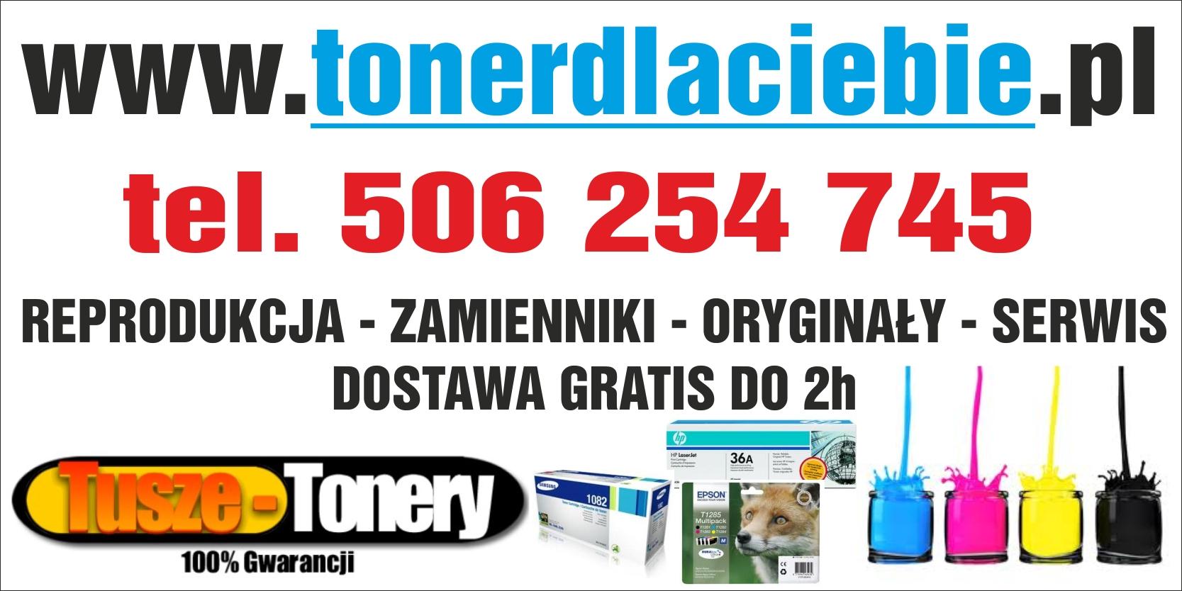 www.tonerdlaciebie.pl (tusze-tonery-serwis) - adres, telefon, www | Sklepy Białołęka Warszawa Białołęka Warszawa
