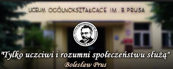 LO im. Bolesława Prusa w Skierniewicach - adres, telefon, www | Szkoły Skierniewice Skierniewice
