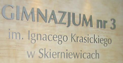 Gimnazjum nr 3 im. Ignacego - adres, telefon, www | Szkoły Skierniewice Skierniewice