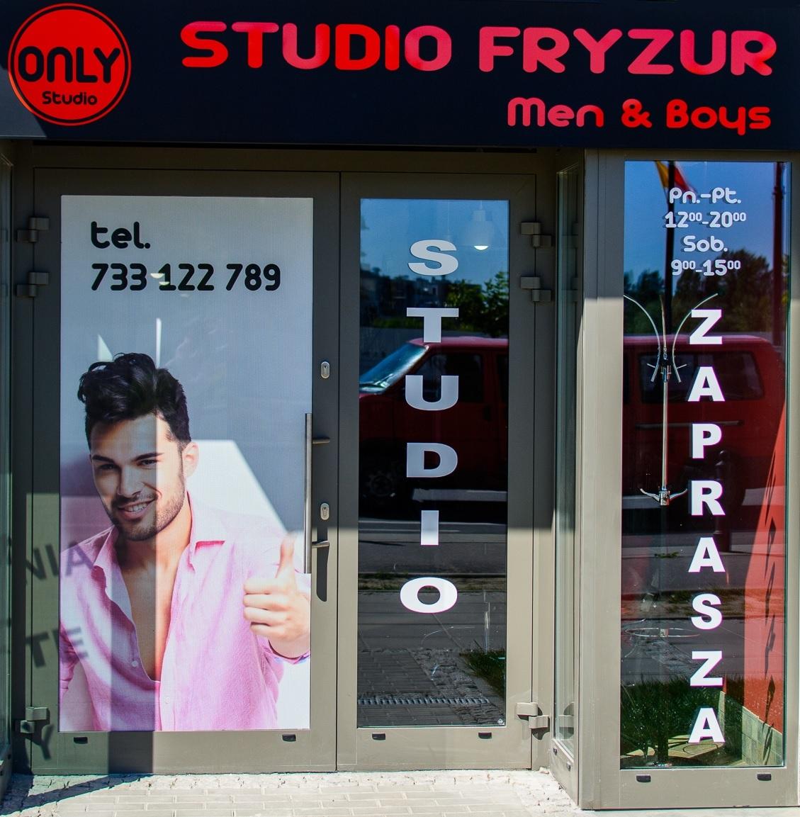 Fryzjer męski dziecięcy Only-Studio - adres, telefon, www   Pielęgnacja Wilanów Warszawa Wilanów Warszawa