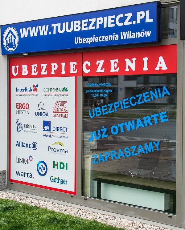 Ubezpieczenia Wilanów Tuubezpiecz - adres, telefon, www | Finanse Wilanów Warszawa Wilanów Warszawa
