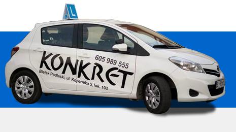 Ośrodek Szkolenia Kierowców - KONKRET - adres, telefon, www | Motoryzacja Bielsk Podlaski  Bielsk Podlaski