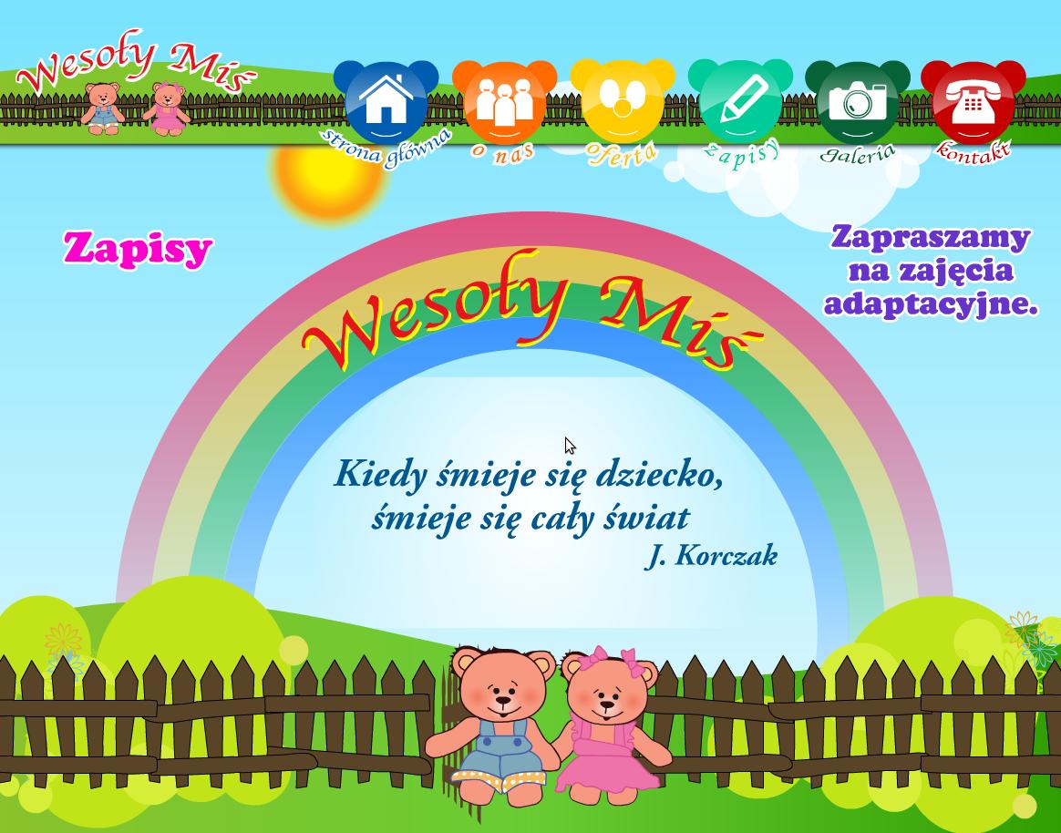 Wesoły miś Przedszkole  - adres, telefon, www | Edukacja - Szkoły Warszawa Warszawa