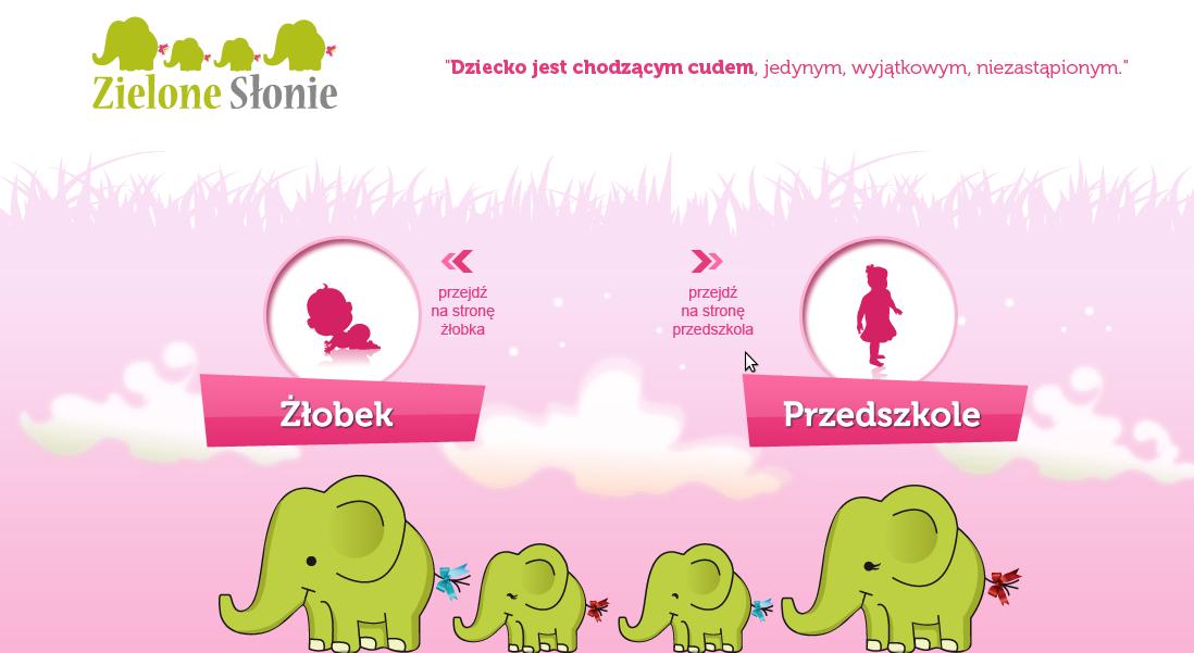 Przedszkole Zielone Słonie - adres, telefon, www | Edukacja - Szkoły Warszawa Warszawa