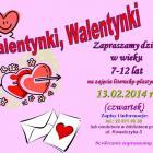 Biblioteka przy Kowalczyka: zajęcia Walentynki, Walentynki