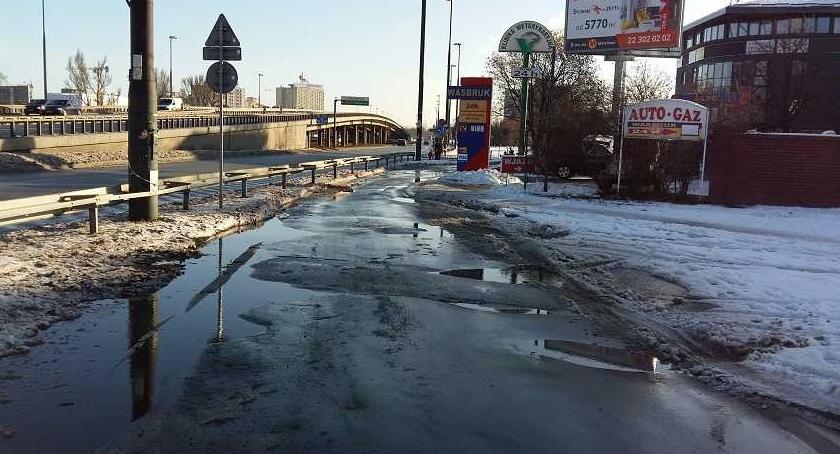 Drogi, Mała Modlińska potrzebny remont tramwaj Będzie spotkanie - zdjęcie, fotografia