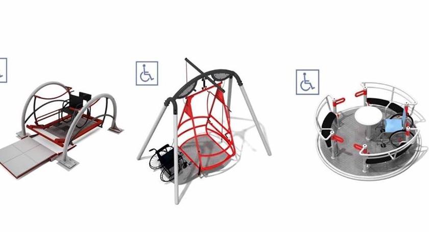 Budżet partycypacyjny, Zabawki przyjazne niepełnosprawnym Parku Picassa - zdjęcie, fotografia