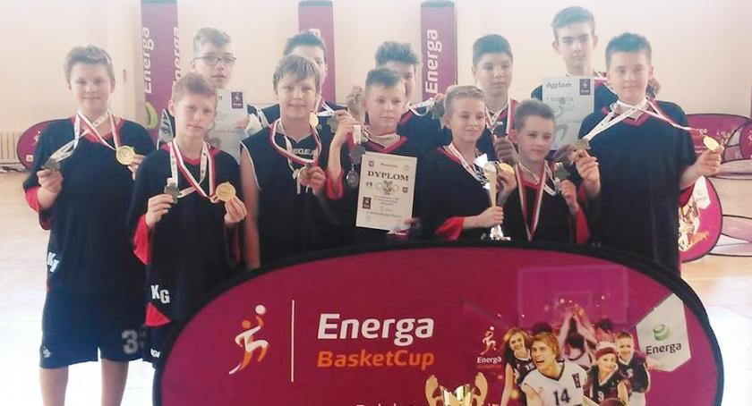 Sport, Koszykarscy mistrzowie Mazowsza - zdjęcie, fotografia
