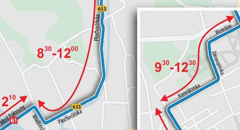 Drogi, Uwaga kierowcy! niedzielę spore utrudnienia drogach Białołęki! - zdjęcie, fotografia