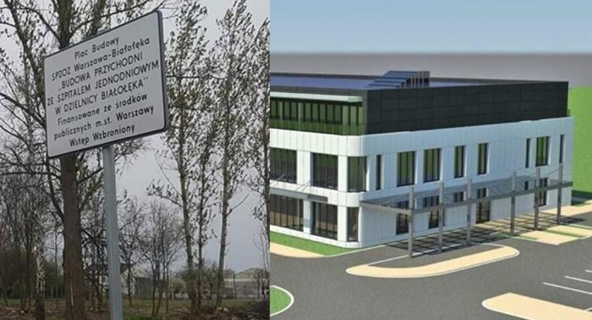 Opieka zdrowotna, Szpital Białołęce pozwolenie budowę - zdjęcie, fotografia
