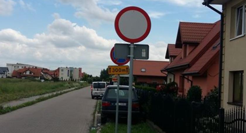 Drogi, Internetowa Fundacja dość rozmów dzielnicą zakaz wjazdu będzie chodnika - zdjęcie, fotografia