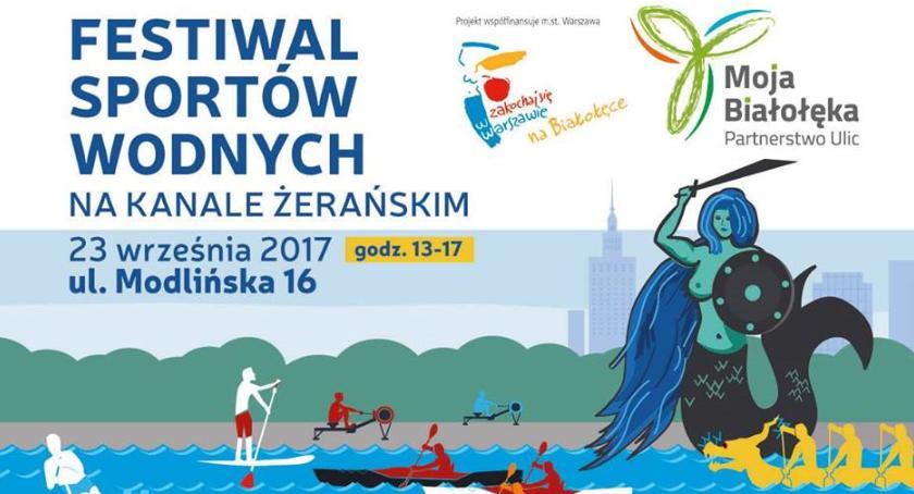 Zapowiedzi, Festiwal sportów wodnych Białołęce jutro! - zdjęcie, fotografia