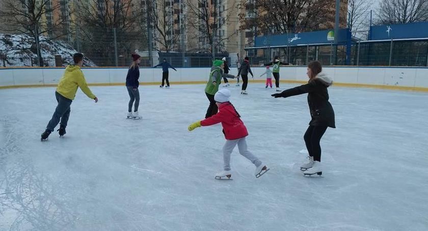 Sport, Startują miejskie lodowiska Kiedy nasze - zdjęcie, fotografia