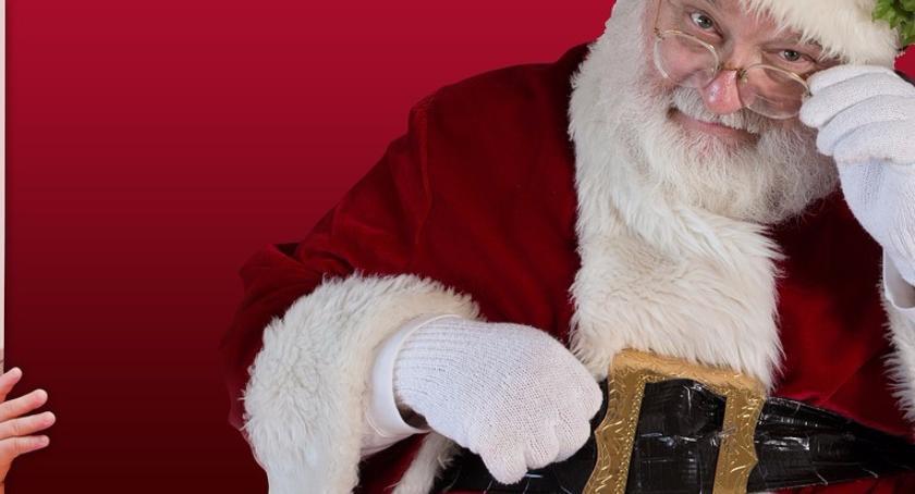 Handel i usługi, zarabia święty Mikołaj - zdjęcie, fotografia