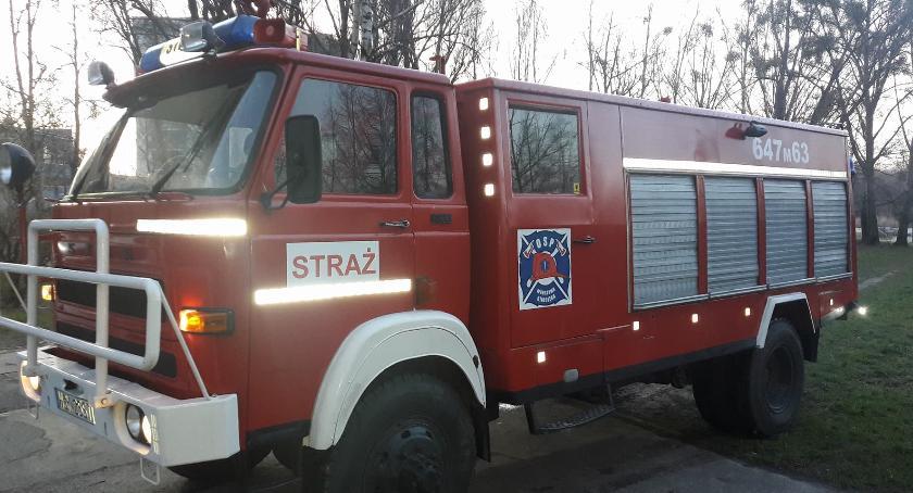 Bezpieczeństwo, Białołęka wozem strażackim! Ochotnicy spełniają swoje marzenia - zdjęcie, fotografia