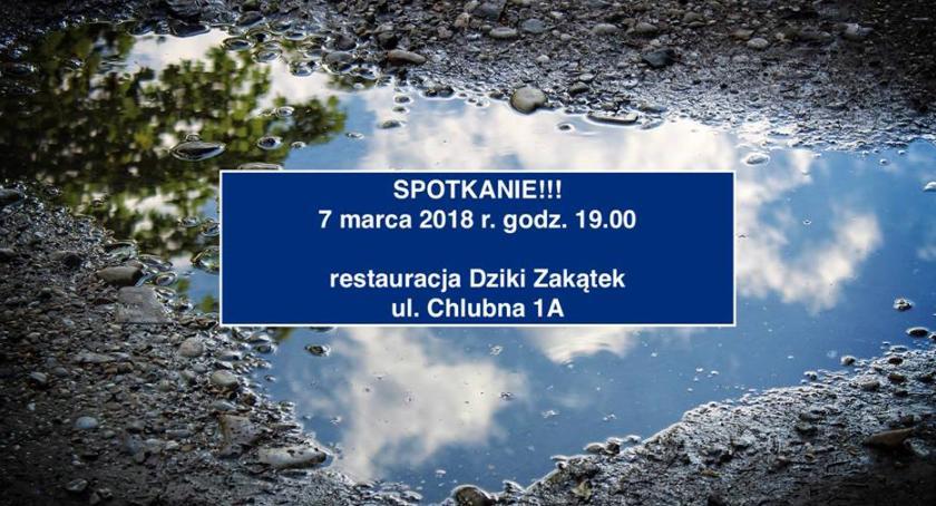 Drogi, warianty poprawy dróg Białołęce spotkanie pomysły rozwiązanie problemów marca - zdjęcie, fotografia