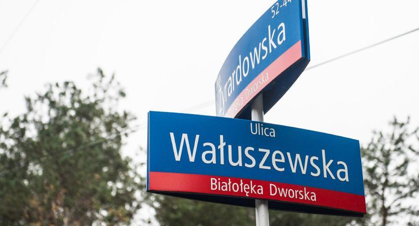 Drogi, Odwodnienie skrzyżowania Żyrardowskiej Wałuszewską właściwie dopiero) jesienią - zdjęcie, fotografia