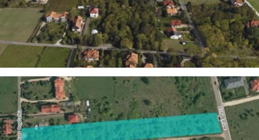 Zieleń, Zielona działka sprzedaż Brzeziny chcą parku dzielnica dopuszcza projektu - zdjęcie, fotografia