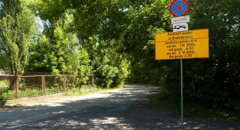 Drogi, piątek remont Białołęckiej soboty Zdziarskiej Sprawdźcie objazdy! - zdjęcie, fotografia