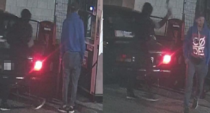 Kradzieże i rozboje, Okradli stację paliw samochód Policja prosi pomoc - zdjęcie, fotografia