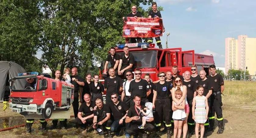 Bezpieczeństwo, Białołęcka Ochotnicza Straż Pożarna liczy nasze wsparcie - zdjęcie, fotografia