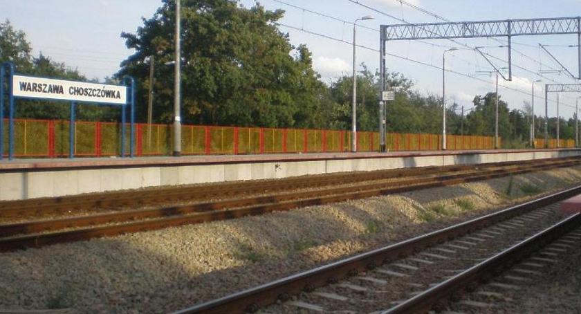 Komunikacja, Choszczówka światełko tunelu - zdjęcie, fotografia