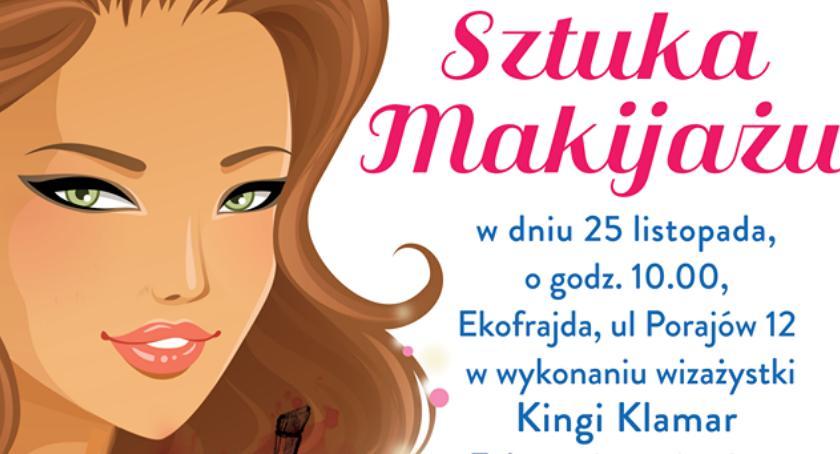 Patronat, Sztuka makijażu ramach spotkań Babskiej Białołęki! - zdjęcie, fotografia