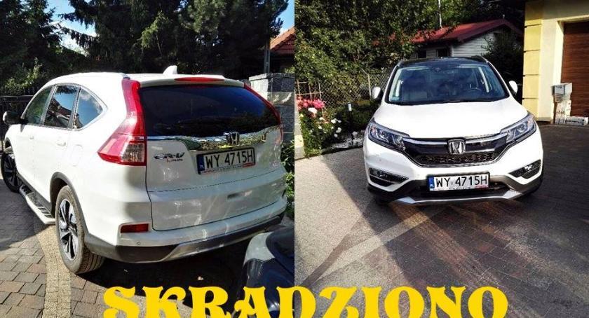 Kradzieże i rozboje, Honda skradziona Annopolu Zauważycie gdzieś dajcie znać! - zdjęcie, fotografia
