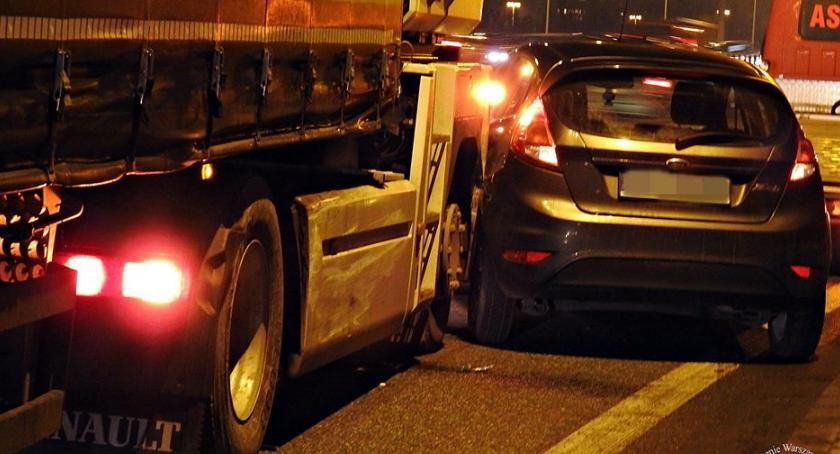 Wypadki, osobowe zmieniało zauważył kierowca ciężarówki [ZDJĘCIA] - zdjęcie, fotografia