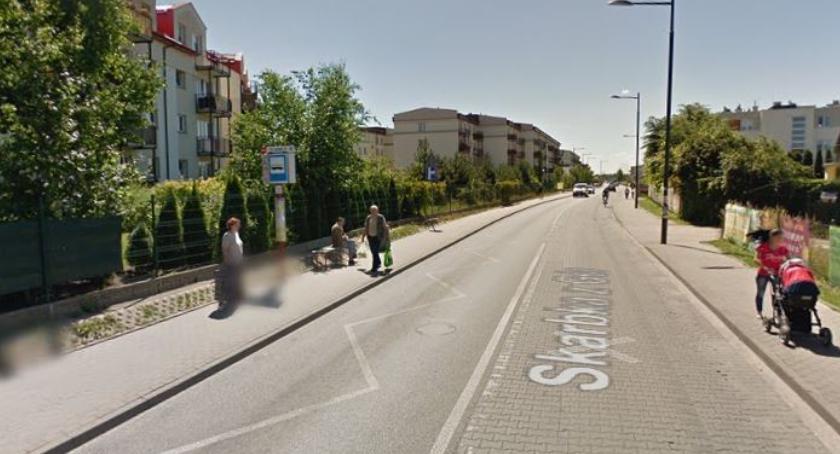 Bezpieczeństwo, Progi światła pomysły poprawę bezpieczeństwa Skarbka - zdjęcie, fotografia