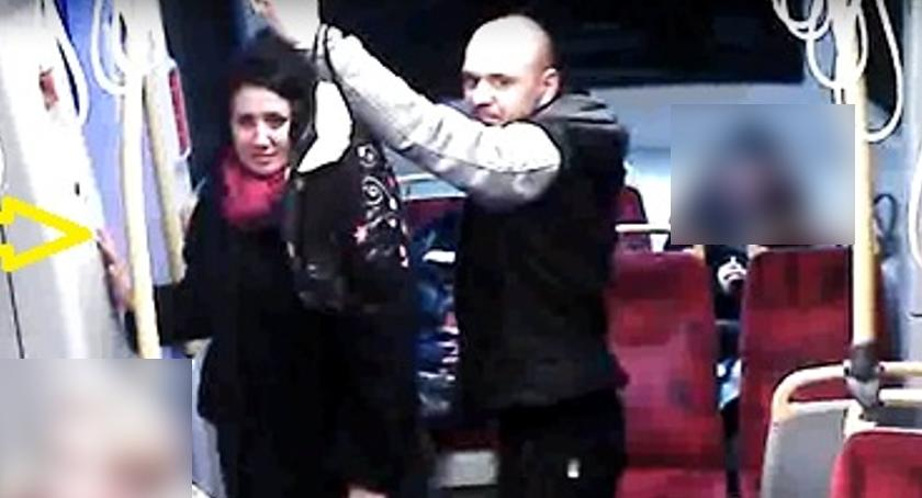 Poszukiwani, Ukradli torbę tramwaju Szuka policja - zdjęcie, fotografia