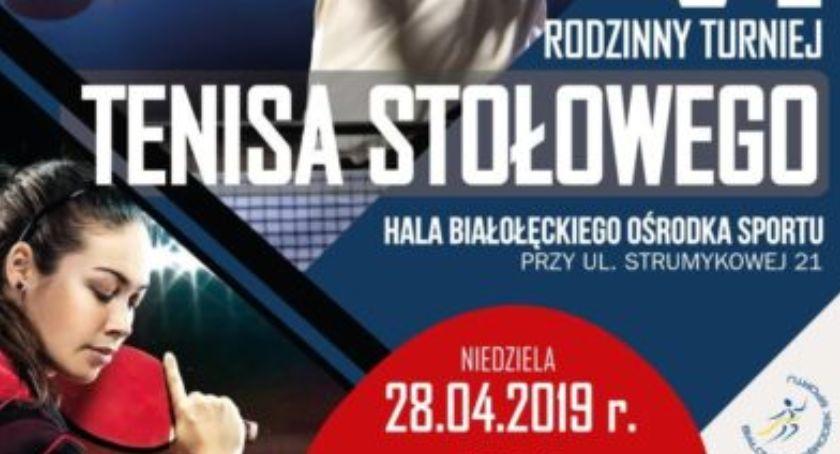 Wydarzenia, Rodzinny Turniej Tenisa Stołowego Mistrzynią Olimpijską Białołęce! - zdjęcie, fotografia