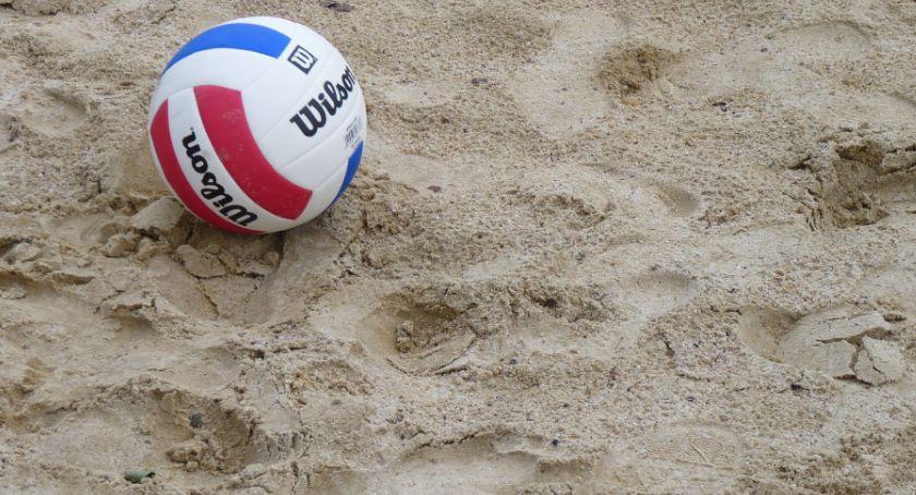 Inne dyscypliny, boisko siatkówki plażowej - zdjęcie, fotografia
