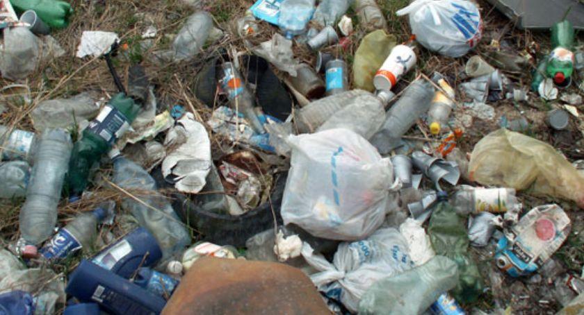 Problemy, Dzikie wysypiska śmieci Białołęce interwencja - zdjęcie, fotografia