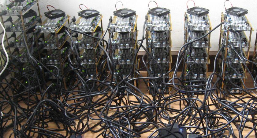 Kradzieże i rozboje, Wyłudzenie astronomiczną kwotę Zamieszana kopalnia Bitcoin - zdjęcie, fotografia