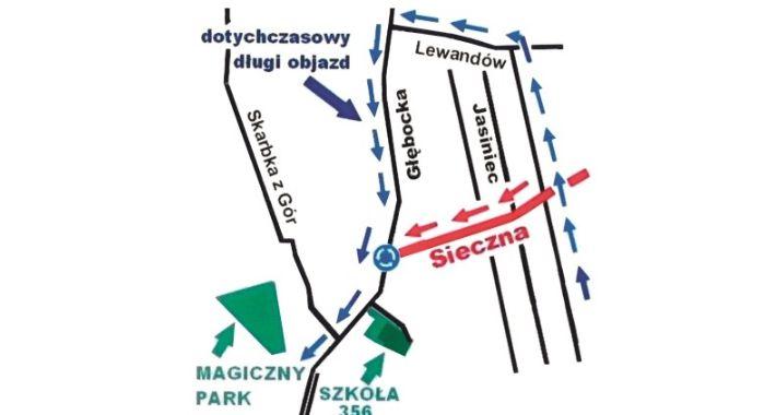 Drogi, Wybudują ulicę Sieczną - zdjęcie, fotografia