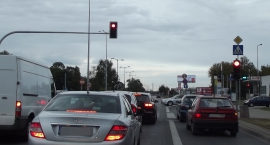 Światła na Modlińskiej zmorą kierowców