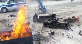Wypalanie oleju z maszyn zakończyło się wysokim mandatem