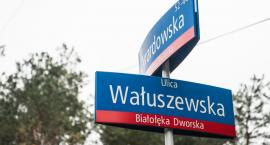 Odwodnienie skrzyżowania Żyrardowskiej z Wałuszewską już (a właściwie dopiero) jesienią