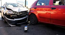 Zderzenie czterech aut na Modlińskiej [ZDJĘCIA]