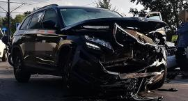 Wypadek na skrzyżowaniu Daniszewskiej z Annopol [ZDJĘCIA]