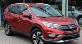Kolejna Honda CR-V skradziona z Białołęki